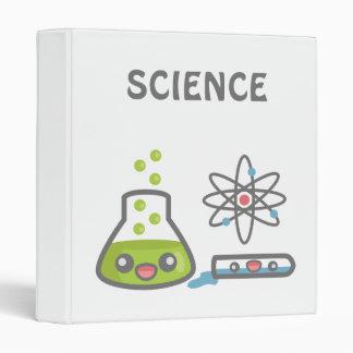 Cute Science Equipment Binders