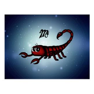 cute Scorpio Postcard
