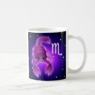Cute Scorpio Zodiac Coffee Mugs