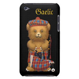 Cute Scotland Teddy Bear - Gaelic Barely There iPod Cover