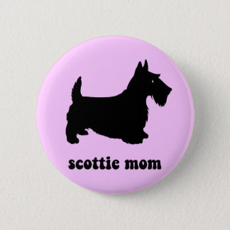 Cute Scottie Button