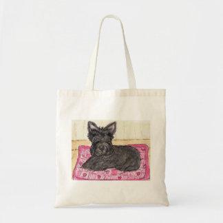 Cute Scottie Dog bag birthday Scottish terrier