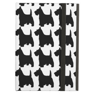 Cute Scottie Dog Scottish Terrier Pattern iPad Air Cases