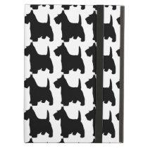 Cute Scottie Dog Scottish Terrier Pattern iPad Air Cover
