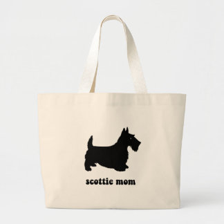 Cute Scottie Large Tote Bag