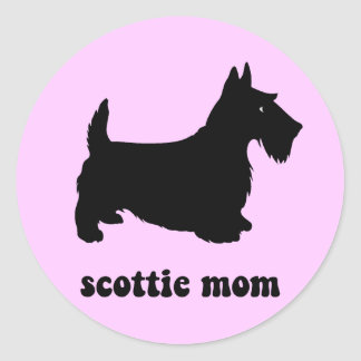 Cute Scottie Stickers