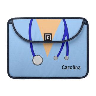 Cute Scrubs Nurses Personalized MacBook Pro Air Sleeves For MacBooks