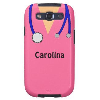 Cute Scrubs Nurses Personalized Samsung Case Galaxy SIII Covers
