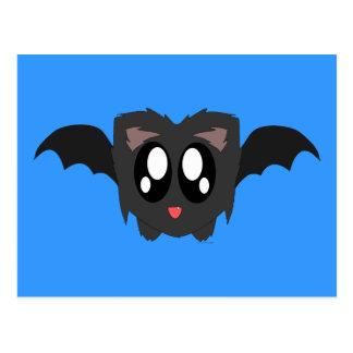 Cute Scruffy Bat Postcard