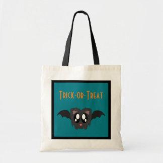 Cute Scruffy Halloween Bat Trick-or-Treat Bag