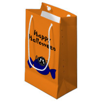 Cute Scruffy Halloween Spider Gift Bag