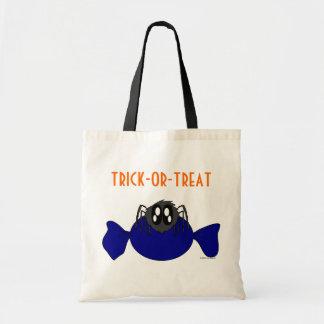 Cute Scruffy Halloween Spider Trick-or-Treat Bag