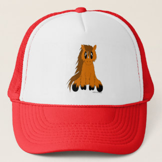 Cute Scruffy Pony Hat