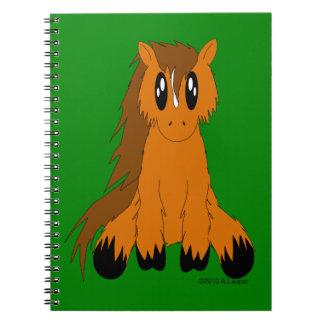 Cute Scruffy Pony Notebook