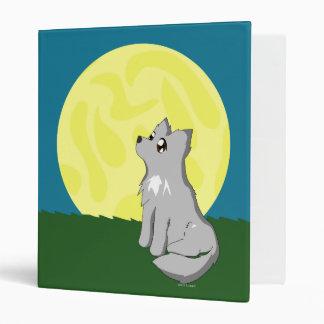 Cute Scruffy Wolf with Moon Binder