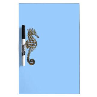 Cute Sea Horse Marine Animal Gift Dry-Erase Board