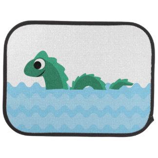 Cute Sea Monster Car Floor Mat