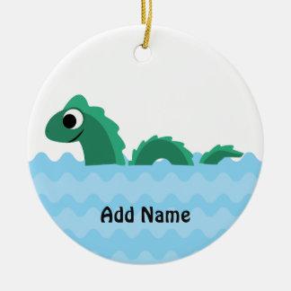 Cute Sea Monster Ceramic Ornament