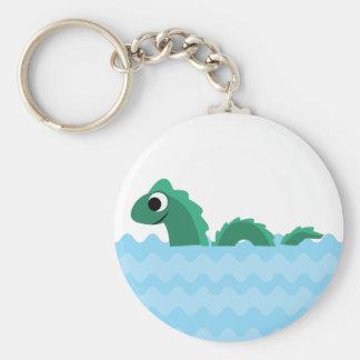 Cute Sea Monster Keychain
