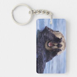 Cute Sea Otter | Alaska, USA Keychain