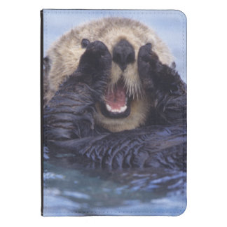 Cute Sea Otter   Alaska, USA Kindle Case