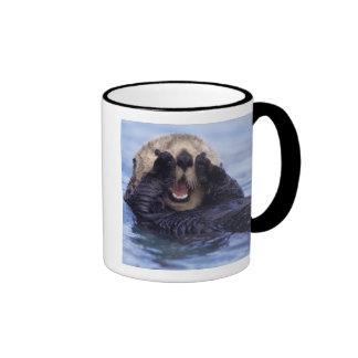Cute Sea Otter | Alaska, USA Ringer Mug