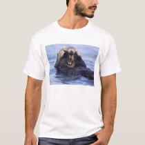 Cute Sea Otter | Alaska, USA T-Shirt