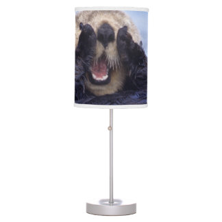 Cute Sea Otter | Alaska, USA Table Lamp