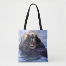 Cute Sea Otter | Alaska, USA Tote Bag