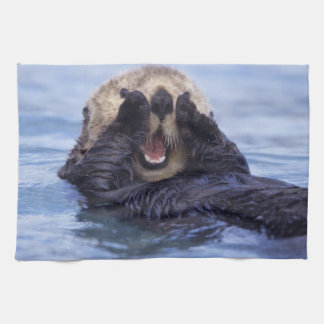 Cute Sea Otter | Alaska, USA Towel