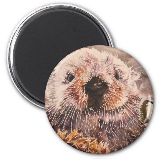Cute Sea Otter Refrigerator Magnet Gift