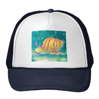 Cute Sea Snail Trucker Hat