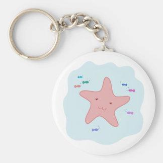 Cute Sea Star Key Chain