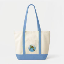 Cute Sea turtle beach bag
