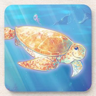 Cute Sea Turtle Coaster