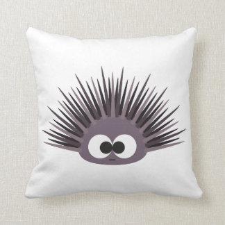 Cute Sea Urchin Throw Pillow