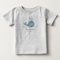 Cute Sea Whale | Baby Boy | T-shirt