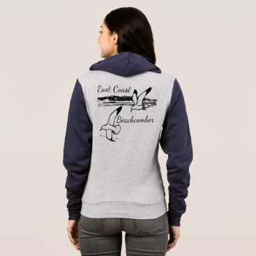 Beach Themed Cute Seagull Beach East Coast Beachcomber sweater