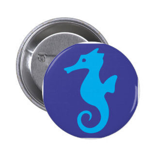 Cute Seahorse Icon Buttons