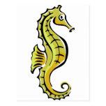 Cute Seahorse Postcard