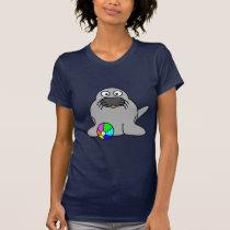 Cute seal animation cartoon illustration T-Shirt