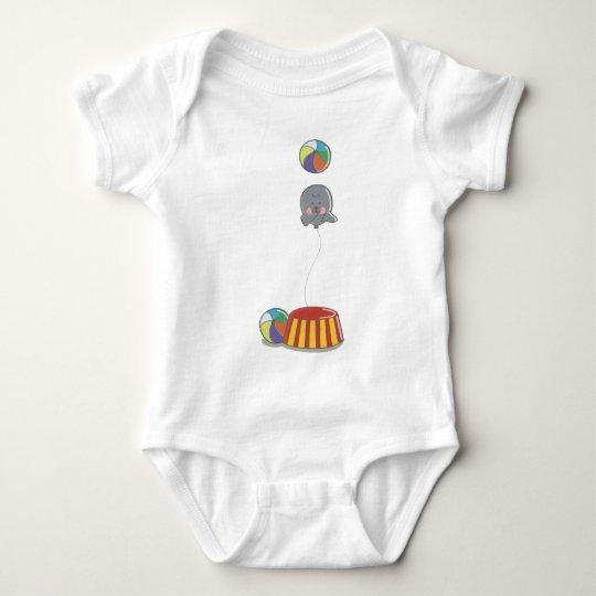 cute seal baby tshirt