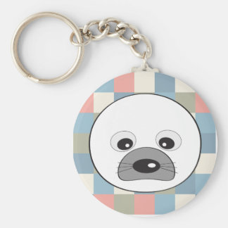 Cute seal keychain
