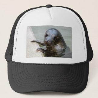 Cute Seal Pup Trucker Hat