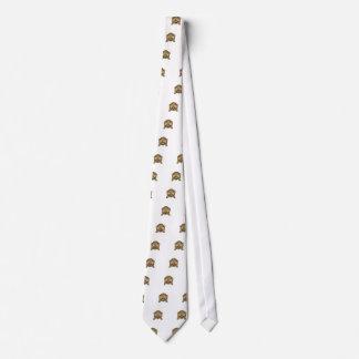 Cute See No Evil Monkey Emoji Neck Tie
