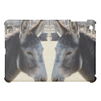 Cute Seeing Double Donkeys Burros Western Cover For The iPad Mini