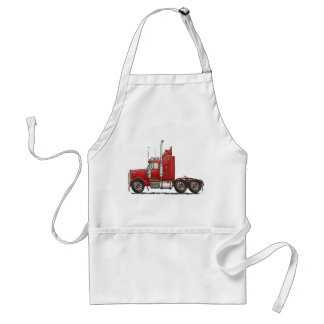 Cute Semi-Cab Adult Apron