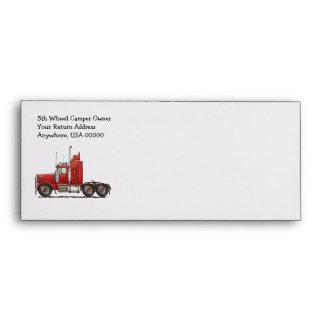 Cute Semi-Cab Envelopes