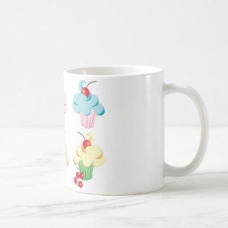 Cute set of cupcakes coffee mug