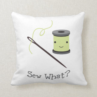 Cute, Sew What? Pillow